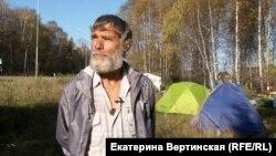 Валентин Ермаков, участник отряда якутского шамана Александра Габышева.