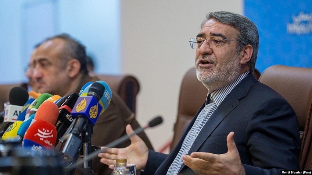 Iranian Interior Minister Abdolreza Rahmani Fazli. FILE PHOTO
