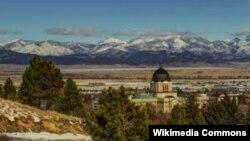 Город Хелена – столица штата Монтана