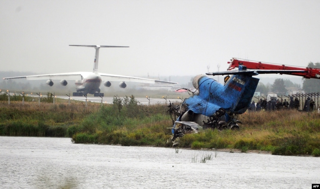 lokomotiv yaroslavl air disaster Hands down the most horrific event in hockey history.