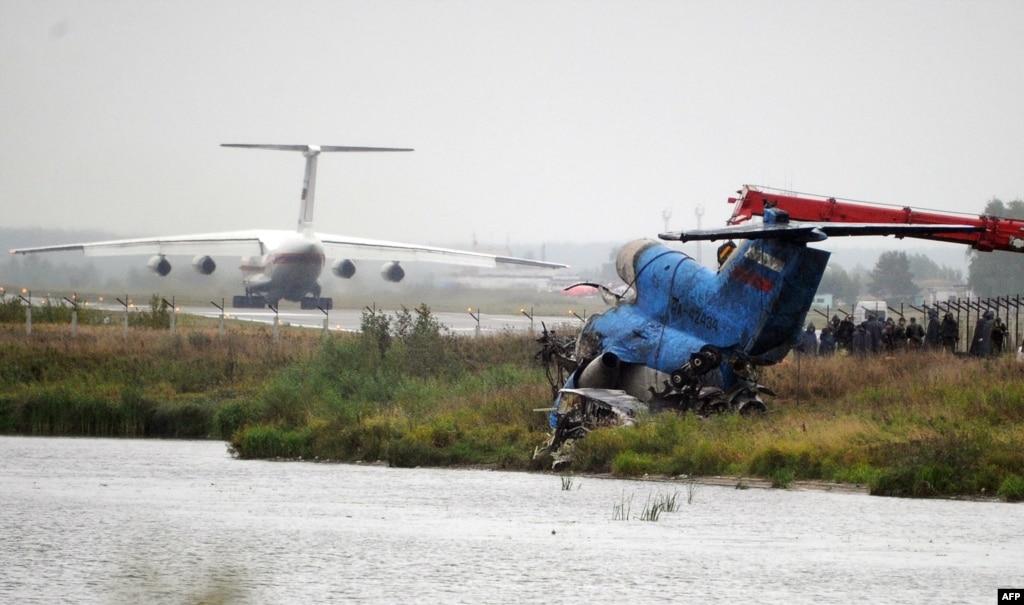 lokomotiv yaroslavl air disaster Hands down the most horrific event in hockey history.