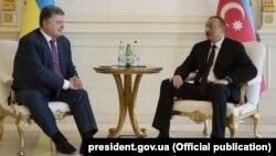 Ուկրաինայի և դրբեջանի նախագահների հանդիպումը Բաքվում, 14-ը հուլիսի, 2016թ․