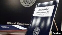 Примірник бюджетного плану, запропонованого Дональдом Трампом в березні 2017 року