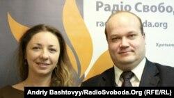 Олеся Яхно та Валерій Чалий