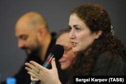 Софья Апфельбаум и режиссер Кирилл Серебренников (архивное фото)