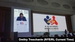 Congresul Mondil al Familiilor, organizat în septembrie, 2018, la Chișinău