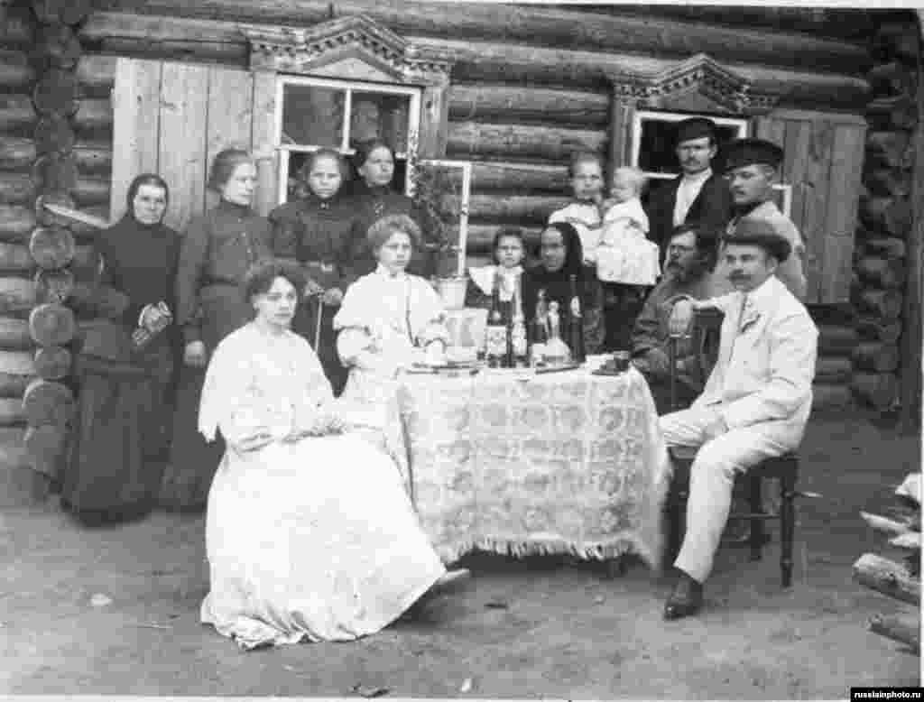 Семейный портрет, Чебоксары, 1905