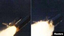 Space Shuttle Challenger eksplodirao je neposredno nakon lansiranja, 28.01.1986.