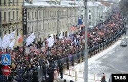 Під час «Маршу проти падлюк» у Москві, 13 січня 2013 року