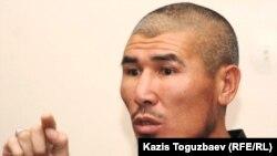 Талгат Рыскулбеков, активист «желтоксановской организации». Алматы, 2 ноября 2010 года.