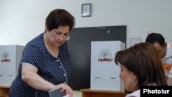 Armenia - Municipal elections, Yerevan, 31May, 2009