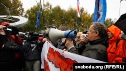 """Белоруссия - """"Народный сход"""" в Минске, 8 октября 2011"""