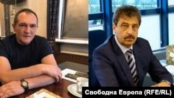 Васил Божков (вляво) и Цветан Василев