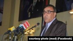 شاه محمود میاخیل، معاون نخست وزارت دفاع ملی