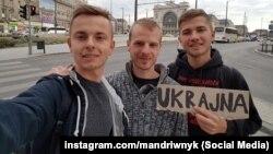 Андрій Гурський (ліворуч) та Вадим Найко (праворуч)