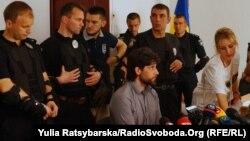 Рафаель Лусваргі в суді в Павлограді, 7 травня 2018 року