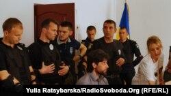 Рафаель Лусваргі на засіданні суду в Павлограді, 7 травня 2018 року