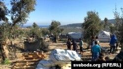 Izbeglice na grčkom ostvru Lezbosu