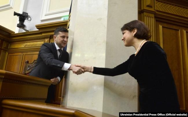 17 березня за пропозицією президента Зеленського парламент проголосував за призначення Ірини Венедіктової на посаду генпрокурора