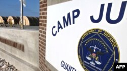 Camp Justice, the location of the U.S. Military Commissions court for war crimes at the U.S. Naval Base in Guantanamo Bay.