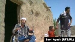 أحد المعاقين العراقيين جراء العنف في ديالى