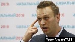Ресейлік оппозициялық саясаткер Алексей Навальный.