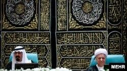 Hasehmi Rafsanjani and late King Abdullah of Saudi Arabia