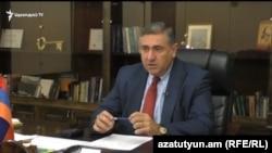 Губернатор Ширакской области Артур Хачатрян