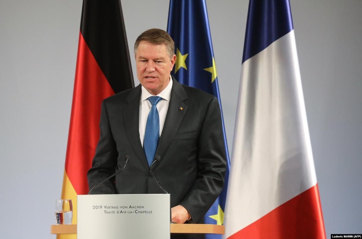 Romania's President Urges PSD Government To Back Down On Judicial Changes