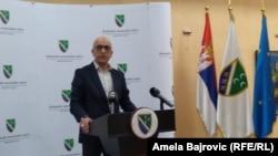 Predsednik Bošnjačkog nacionalnog vijeća (BNV) Esad Džudžo