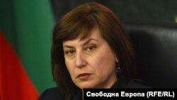 Главният съдебен инспектор Теодора Точкова