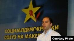 Дарко Давитковски - Претседател на Социјал-демократската младина на Македонија.