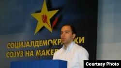 Дарко Давитковски, претседател на Социјалдемократска младина на Македонија.