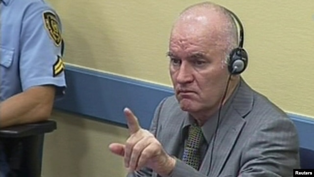 When Ratko Mladic arrived at The Hague detention unit, it was to a red carpet welcome by other indicted war criminals, who honored him with a traditional Bosnian lunch.