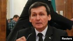 Türkmenistanyň daşary işler ministri Reşit Meredow.
