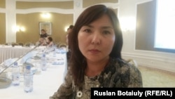 Акерке Байгазиева. Астана, 25 августа 2016 года.