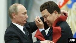 Володимир Путін та Йосип Кобзон, архівне фото