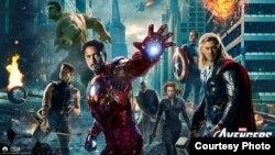 """Super qəhramanlardan bəhs edən """"Marvel's The Avengers"""" filmi."""