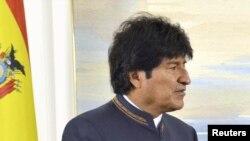 Претседателот на Боливија Ево Моралес