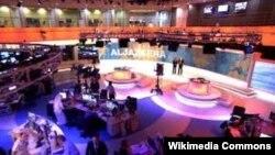 "Катар, Доха. Штаб-квартира телеканала ""Аль-Джазира"""
