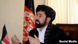 عبیدالله بارکزی عضو ولسی جرگه افغانستان