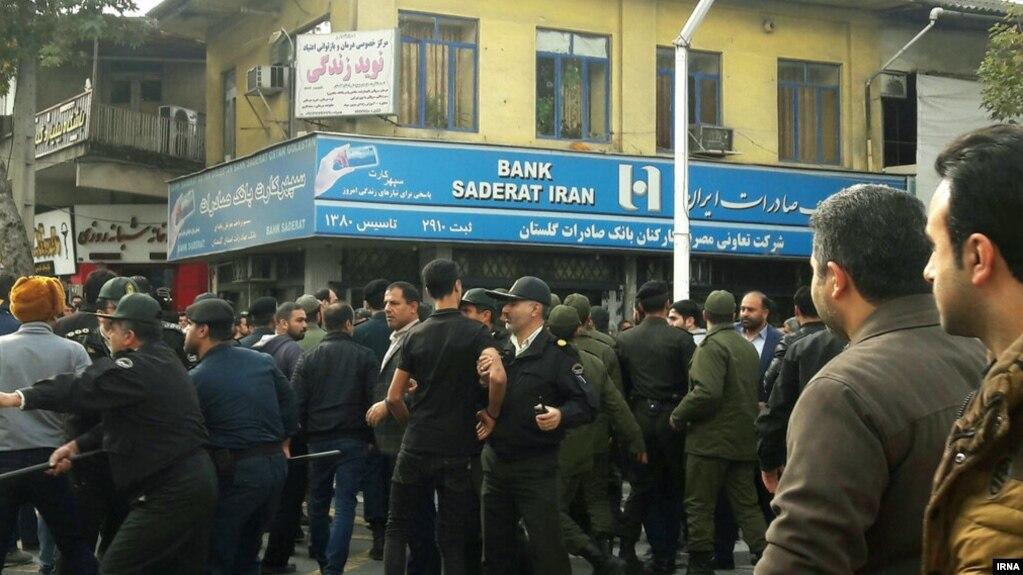Иран билігі: Наразылық кезінде 180 адам ұсталды