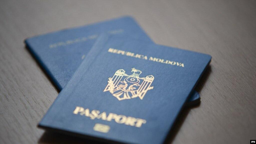 Pașaport moldovenesc.