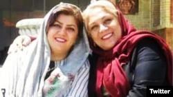 مریم محمدی و آسرین درکاله