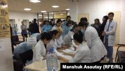 Алматы қалалық №4 клиникалық аурухана. 27 желтоқсан 2019 жыл.