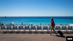 Английский променад в Ницце вновь открыт для прогулок