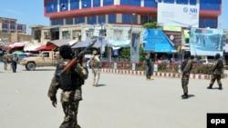 Авганистански војници во Кундуз