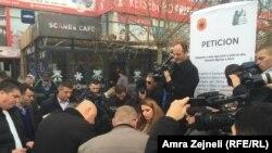 Haradinaj se nada da će peticija biti uzeta u obzir nakon prikupljenih deset hiljada potpisa