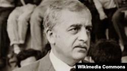 Первый президент Грузии Звиад Гамсахурдиа
