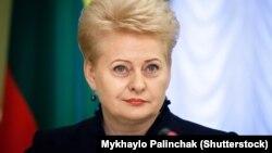 Президент Литви Далія Ґрібаускайте (©Shutterstock)